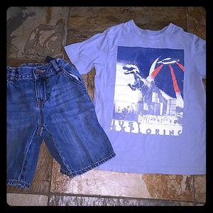 Boys size 6 The Childrens place outfit